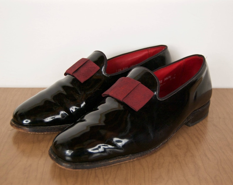 9276aee5591 Allen Edmonds Opera Pumps   black patent leather tuxedo shoes