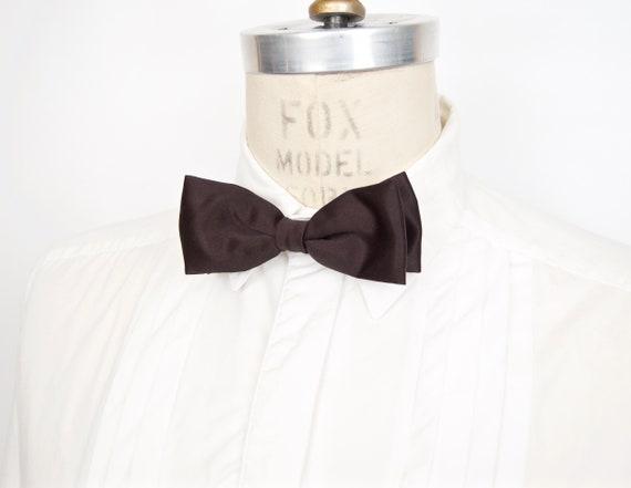Grooms Bow tie Wedding Day Tux Vintage Siz-Lok Bow Tie Invizo Hand Tied Dress Bow Formal Bow Tie Groomsmen Tux Accessories