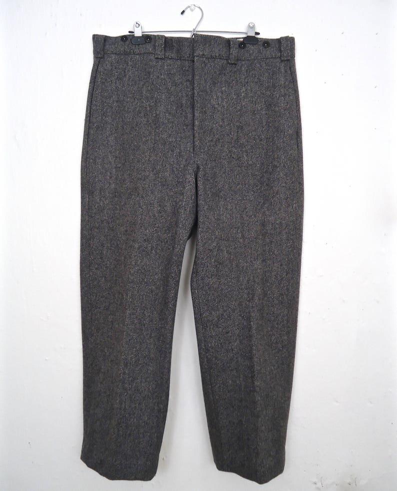 b89952989bd1 L.L.Bean boutons de pantalons de laine w porte-jarretelles