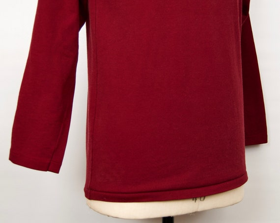 1970s-80s Russell Athletic Shirt w/ mock-neck in … - image 3