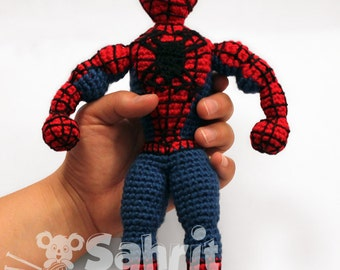 Spider Man[CROCHET FREE PATTERNS (With images) | Crochet amigurumi ... | 270x340
