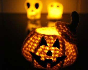 English Instant Download PATTERN Crochet BUNDLE Halloween Decoration Ghost Skull and Pumpkin