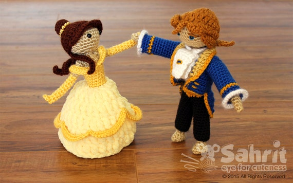 Beauty and the Beast Crochet Amigurumi Pattern