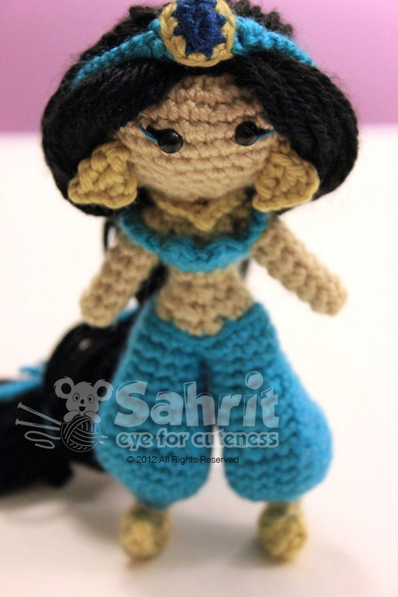 Shop Disney Princess Crocheted Doll Patterns on Etsy | POPSUGAR Family | 854x570