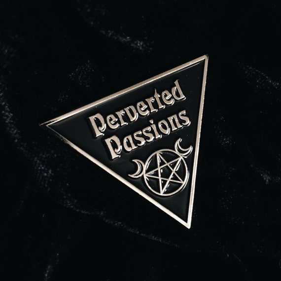 Perverted Passions Enamel Pin by Etsy
