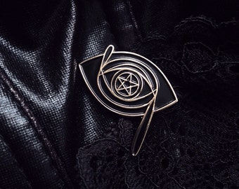 Witch's Gaze Enamel Pin