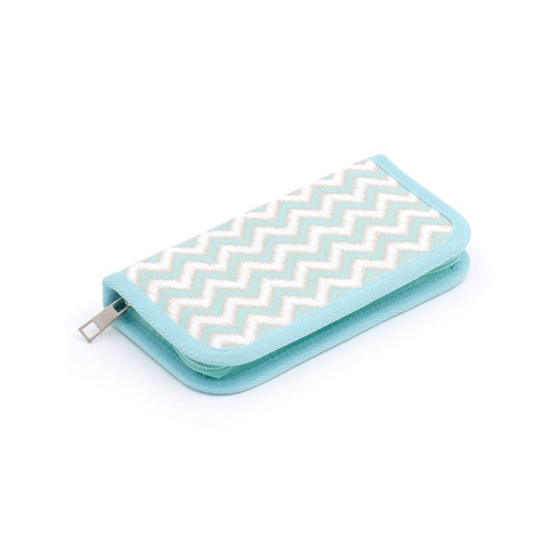 Crochet hook case chevron crochet hook case green crochet image 0