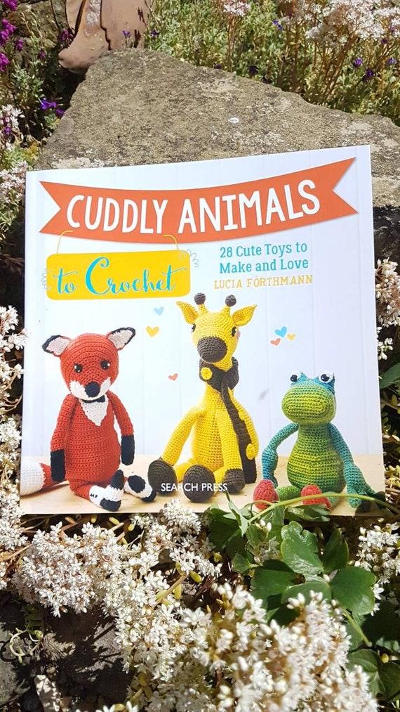 Kuscheltiere zu häkeln häkeln Buch Tier-Muster Musterbuch | Etsy