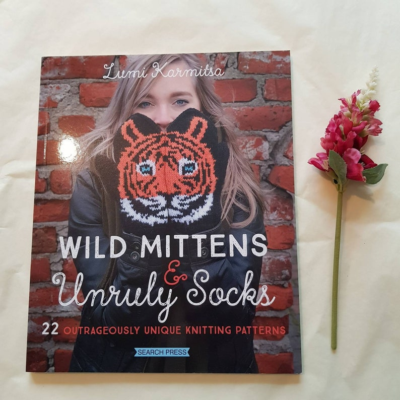 Wild knitting and unruly socks knitting book colourwork image 0
