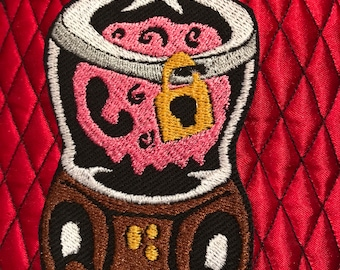Trundle Manor Patch Olivia's Singing Tumor on Canvas or Velvet