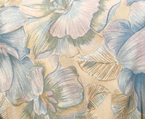 Vtg 60s AMAZING Designer GOLDWORM Pastel KNIT Dre… - image 9