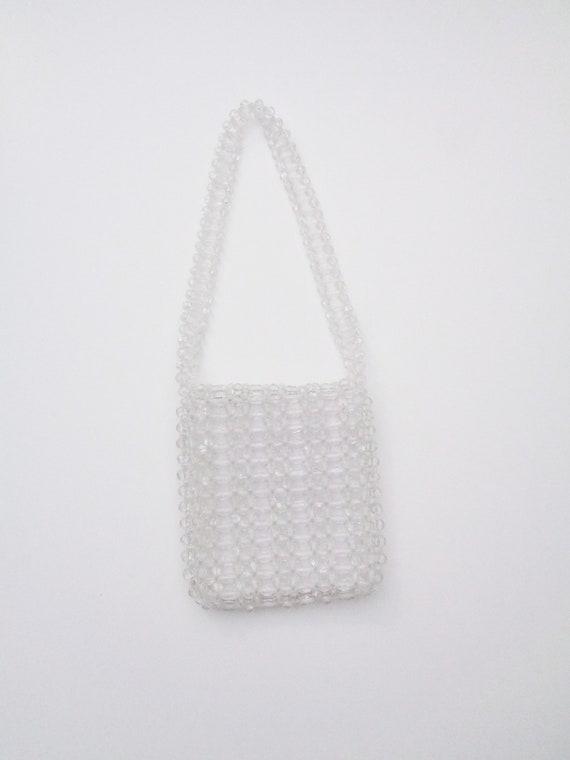 Vtg 60s CRYSTAL BEADED Bag! - image 5