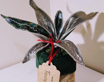 Beautiful handmade Christmas 'Fancy Plant'