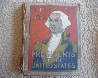 Lives Of The Presidents Of The United States, young people's book  ECS