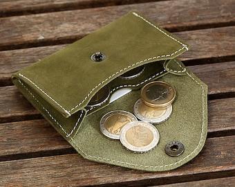 Men's Leather Wallet, minimalist wallet, For Him