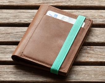 Mens wallets   leather wallet   Gift for Men   Brown   Slim Wallet