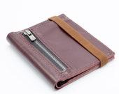 Leather Wallet, Slim Leather Wallet, Front Pocket Wallet, Men's Leather Wallet,
