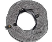 Scarf | Winter Scarf | Infinity Scarf | Mens | Scarf Man |Gift for Him