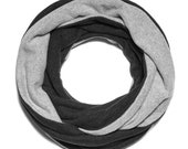 Infinity Scarf for Women, Winter Scarf Collection | Gray Colors | GILLIO