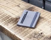 Leather wallet - Men wallet - Gift idea for him - Minimalist wallet