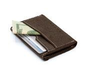 Minimalist Wallet, Leather Wallet, Slim Wallet, Gift For Him