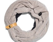 Womens scarf | Infinity scarf | Gray scarf for women | Gift for her | Winter scarves