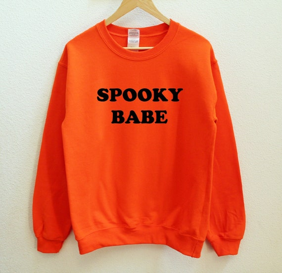 55666d5bb4e Spooky Babe Unisex Sweatshirt