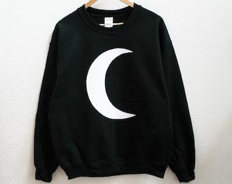 Crescent Moon Unisex Sweatshirt