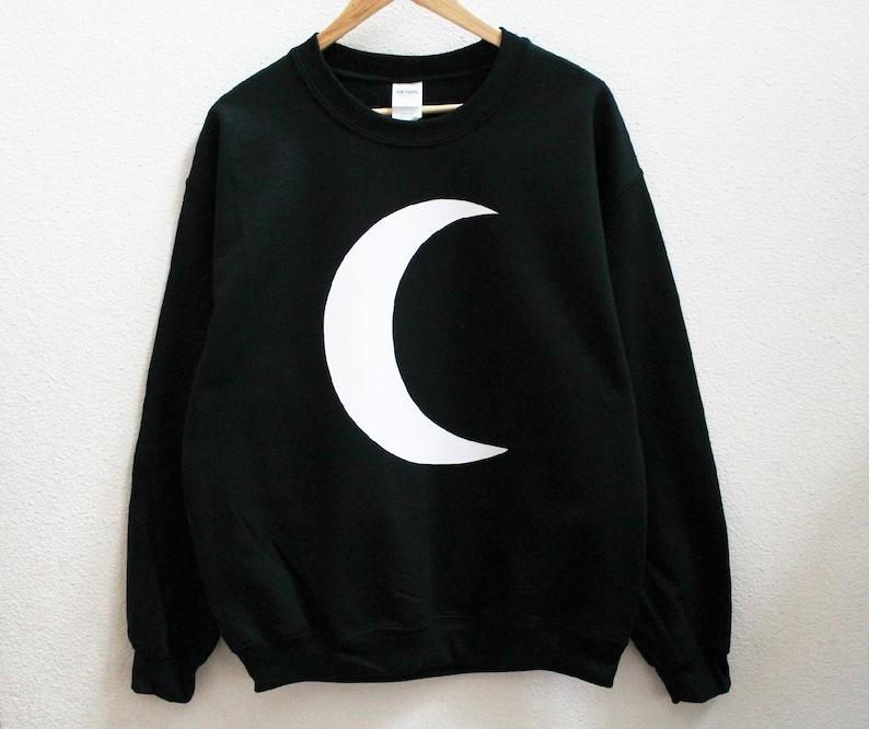 Crescent Moon Unisex Sweatshirt image 0