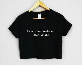 Executive Producer Dick Wolf Women's Crop Shirt