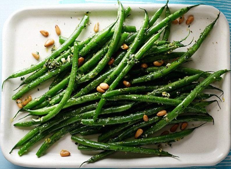 French Green Beans, Fin de Bagnol, 15 seeds Certified Organic, French heirloom, slender tasty pods, gourmet bush bean, farmers market winner photo
