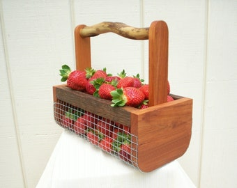 Garden basket Etsy