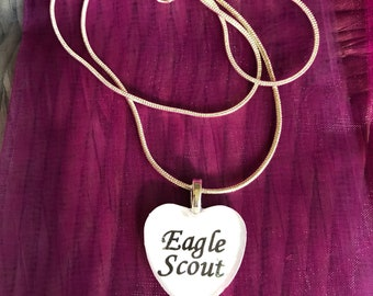 Scout - Eagle Scout Charm Necklace