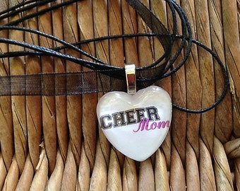 Cheer Mom Charm Necklace