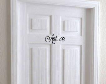 Vinyl House Door Numbers Door Number Decals House Number