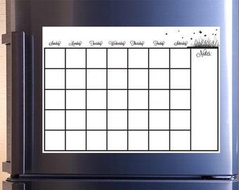 Kühlschrank Kalender : Kühlschrank kalender etsy