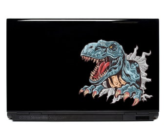 T-rex Laptop Decal | Dinosaur decals t-rex sticker trex dino kids decals FREE SHIPPING car decal outdoor decals yeti cup phone decal