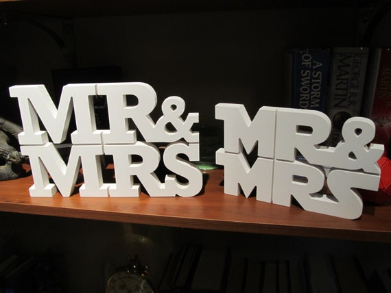 Mr Mrs Wedding Table Centerpiece Starwars Wedding Mr And Etsy
