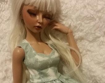 Vintage Winter Wonderland Minifee Dress