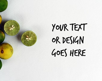 Key Limes Mockup DIGITAL Download Styled Photography Food Citrus Fruit Kitchen Flat Lay Graphics COMMERCIAL LICENSE jpg