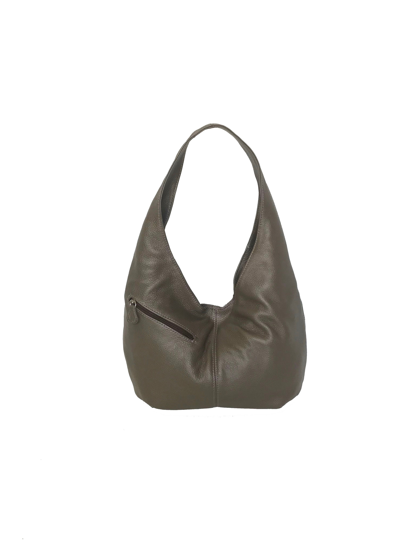 900fdb9b0eabc3 Slouchy Leather Hobo Bag w/ Pockets Trendy Bag Fashion | Etsy