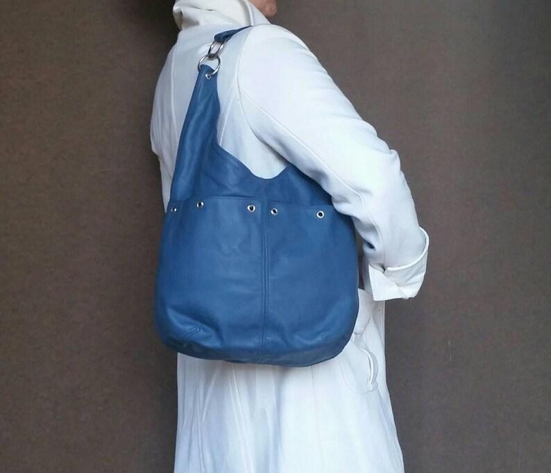 15bdaf6ee8d7 Women Leather Purse Slouchy Hobo Bag Fashion Casual Shoulder