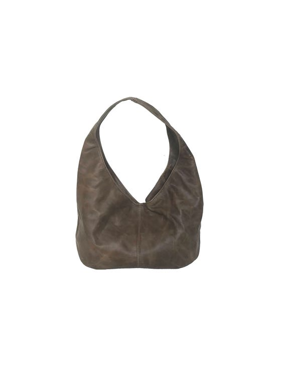 4efd4b26a7 Distressed Leather Hobo Bag Fashion Shoulder Handbags
