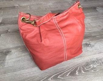 Everyday Leather Bag, Hobo Purse, Unique Fashion Shoulder Handbag, Handmade Purses and Handbags, Zuly