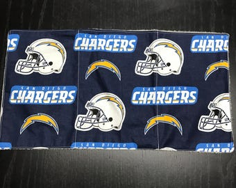 Burp Cloth - SD Chargers