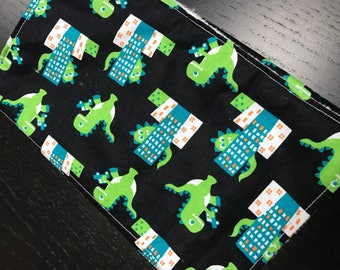 Burp Cloth - Godzilla