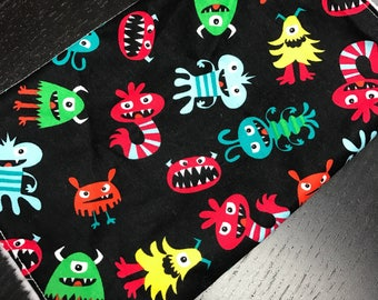 Burp Cloth - Monsters