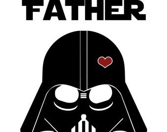 Star Wars Funny Birthday Card For Dad