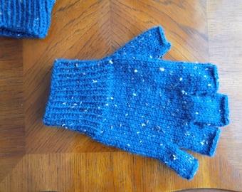 Hand Knit Fingerless Gloves/Handwarmers