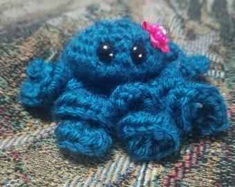 Cutie pie mini-octopus Crochet baby
